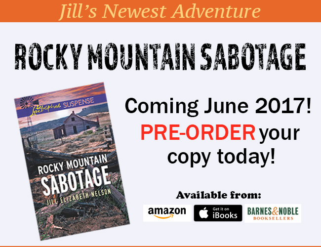 Read about Jill Elizabeth Nelson's Newest Book Rocky Mountain Sabotage Today!