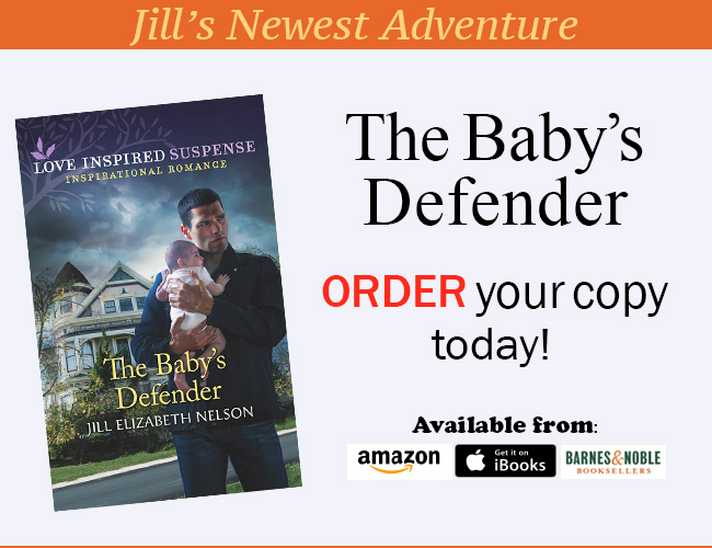 Read about Jill Elizabeth Nelson's Newest Book, The Baby's Defender Today!